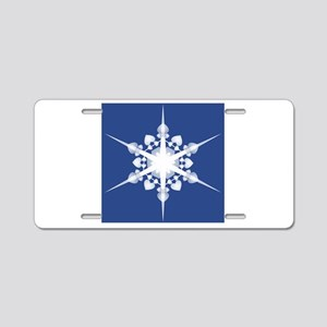 All Points North Aluminum License Plate