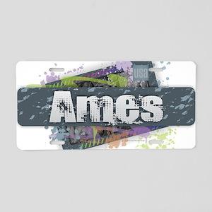 Ames Design Aluminum License Plate