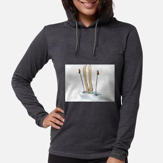 Skiing Long Sleeve T-Shirt