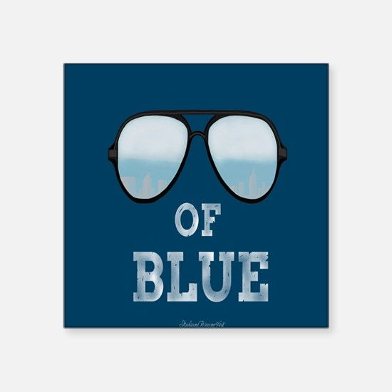 Shade's Of Blue Sticker