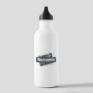 Memphis Design Stainless Water Bottle 1.0L