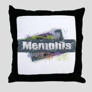 Memphis Design Throw Pillow