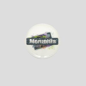 Memphis Design Mini Button
