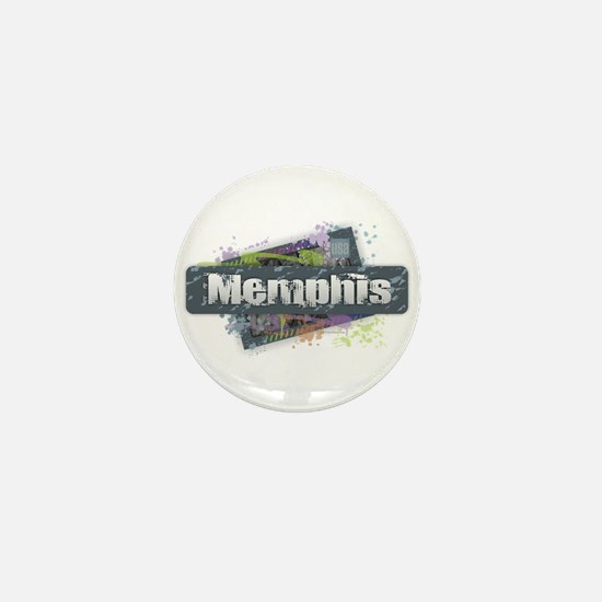 Memphis Design Mini Button
