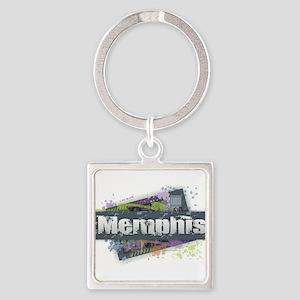 Memphis Design Keychains
