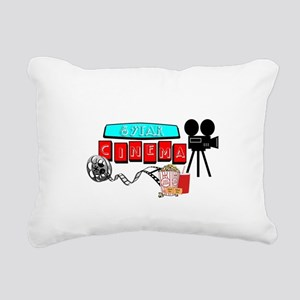 MOVIE STAR CINEMA Rectangular Canvas Pillow
