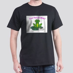 Your (Frog) Pad or Mine Baby Doll T-Shirt