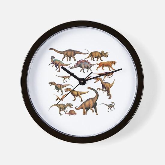 Unique Dinosaur Wall Clock