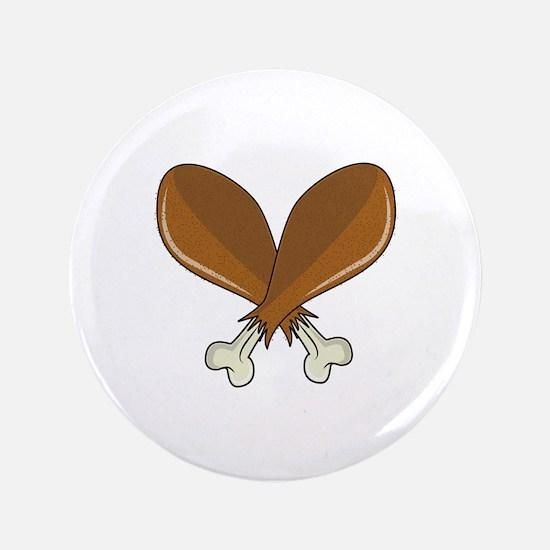 "Drumsticks 3.5"" Button (100 pack)"