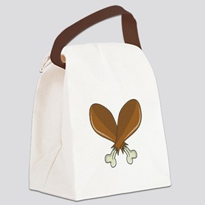 Drumsticks Canvas Lunch Bag