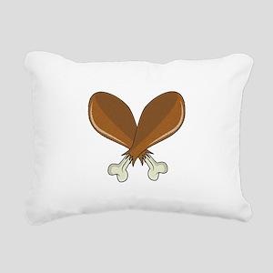 Drumsticks Rectangular Canvas Pillow