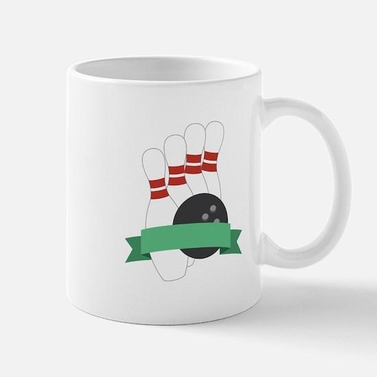 Bowling Logo Mugs