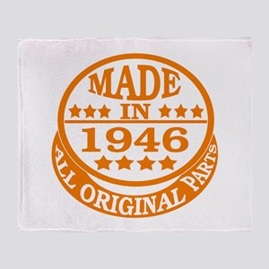 Made in 1946, All original parts Throw Blanket