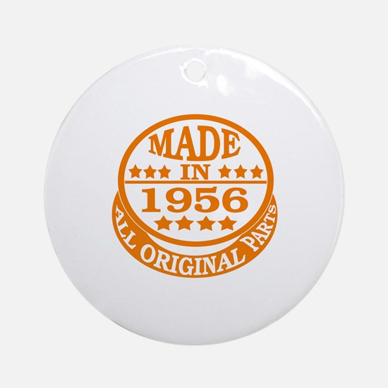 Made in 1956, All original parts Round Ornament