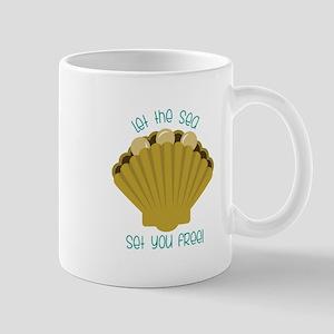 Sea Set You Free Mugs