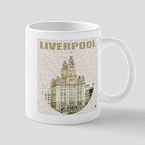 Liverpool Merseyside Mugs