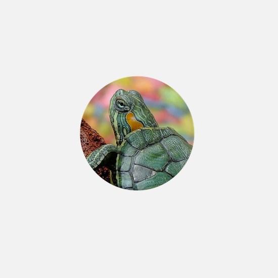Unique Colorful turtle Mini Button