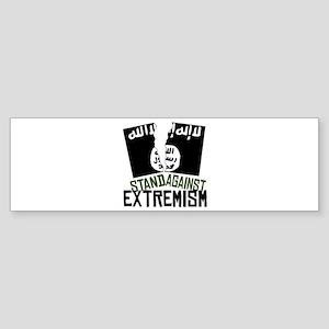 Stand Against Extremism Bumper Sticker