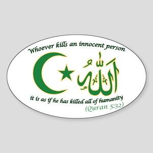 Innocent Person Sticker