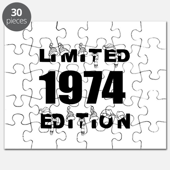 Limited 1974 Edition Birthday Designs Puzzle