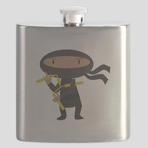 Funny Ninja Flask