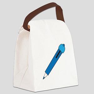 Big Pen Canvas Lunch Bag