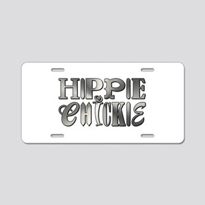 HIPPIE CHICKIE Aluminum License Plate