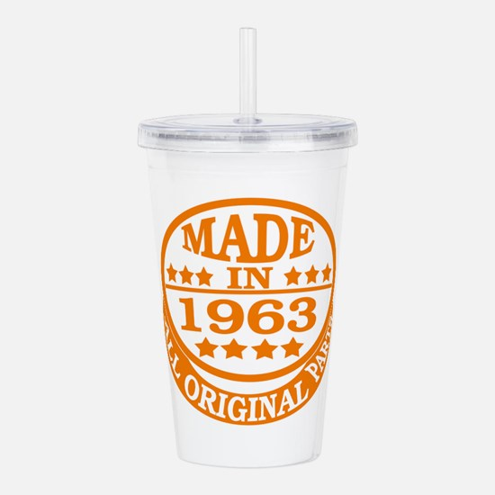 Made in 1963, All orig Acrylic Double-wall Tumbler