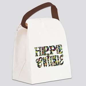 HIPPIE CHICKIE Canvas Lunch Bag
