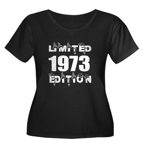 Limited Women's Plus Size Scoop Neck Dark T-Shirt