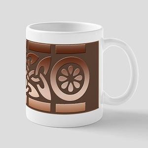 Coppery Celtic Design Shaving Mug