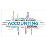 Accounting Wrapped Canvas Art
