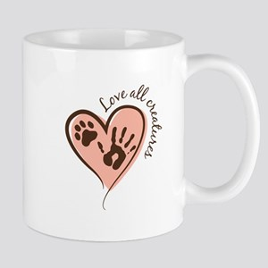 Love All Creatures Mugs