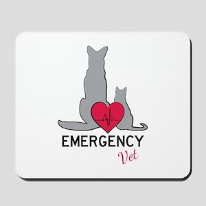 Emergency Vet Mousepad