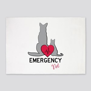 Emergency Vet 5'x7'Area Rug