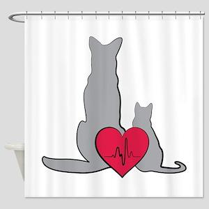 Veterinary Animals Shower Curtain
