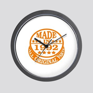 Made in 1992, All original parts Wall Clock