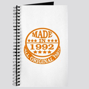 Made in 1992, All original parts Journal