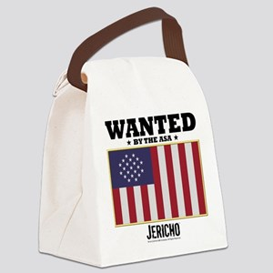 Jericho: Wanted By The A.S.A. Canvas Lunch Bag