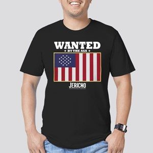 Jericho: Wanted By The Men's Fitted T-Shirt (dark)