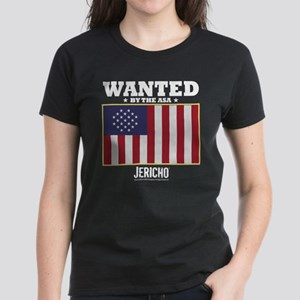 Jericho: Wanted By The A.S.A. Women's Dark T-Shirt