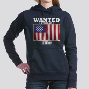 Jericho: Wanted By The A Women's Hooded Sweatshirt