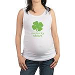 Me Lucky Shirt Maternity Tank Top