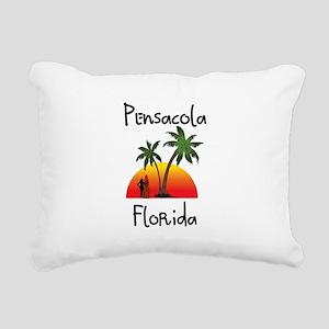 Pensacola Florida Rectangular Canvas Pillow