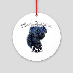 Russian Dad2 Ornament (Round)