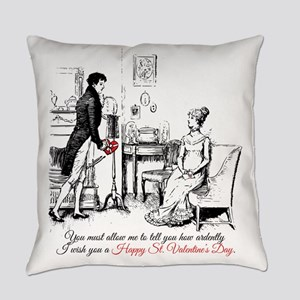 Ardently St. Valentine's Day Everyday Pillow