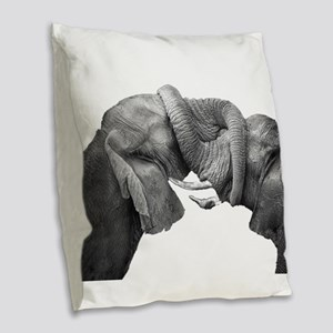 BOND Burlap Throw Pillow