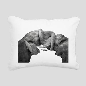 BOND Rectangular Canvas Pillow