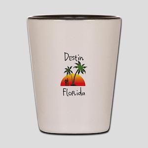 Destin Florida Shot Glass