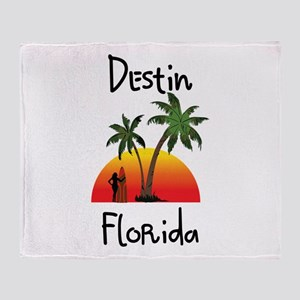 Destin Florida Throw Blanket